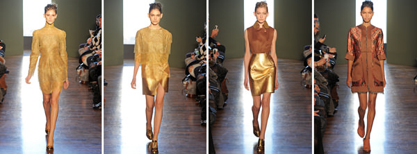 Recuento y backstage en la semana de la moda de Nueva York Otoño Invierno 2012 9