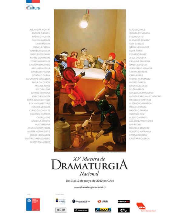 XV Muestra de Dramaturgia Nacional 1