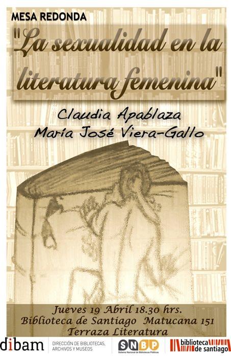 Mesa redonda: La sexualidad en la literatura femenina 3