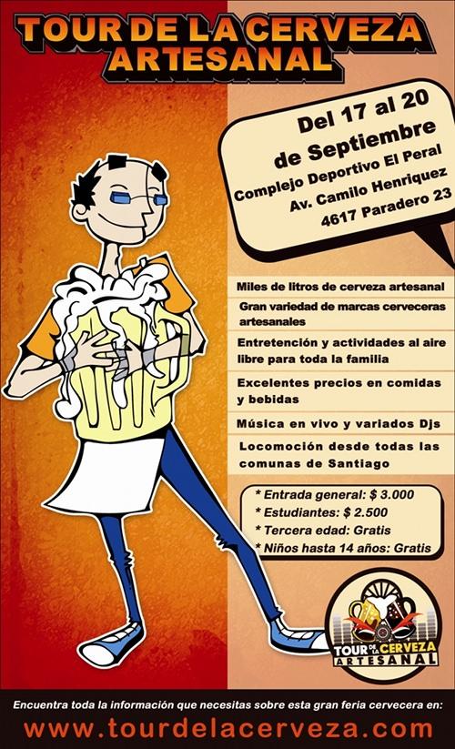 17-20/09 2º Tour de la Cerveza Artesanal 1