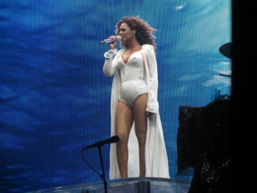 Yo toqué a Beyoncé 1
