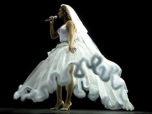 Yo toqué a Beyoncé 3