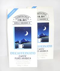 Decaffeinato, Caffe puro arabica en Coquinaria 1
