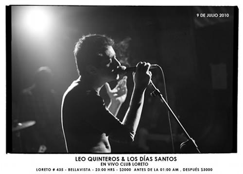 VIE/09/07 Leo Quinteros en vivo 1
