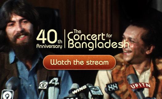 The concert for Bangladesh de George Harrison, gratis sólo por hoy 1