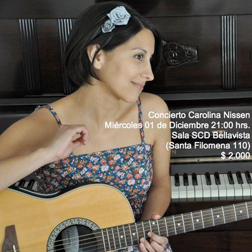 MIE/01/12 Concierto Carolina Nissen 1