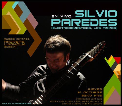 JUE/21/10 Silvio Paredes en vivo 1