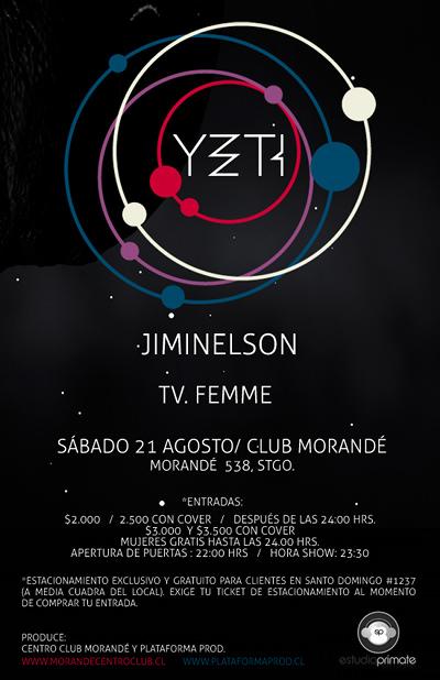 SAB/21/08 Yeti + Jiminelson + TV. Femme 1
