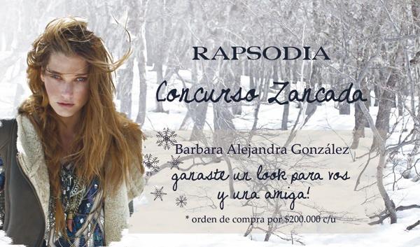 Resultado Concurso: Ganate un look Rapsodia para ti y una amiga! 1