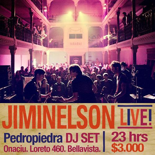 JUE/27/01 Jiminelson Live! + Pedropiedra Dj set. 1
