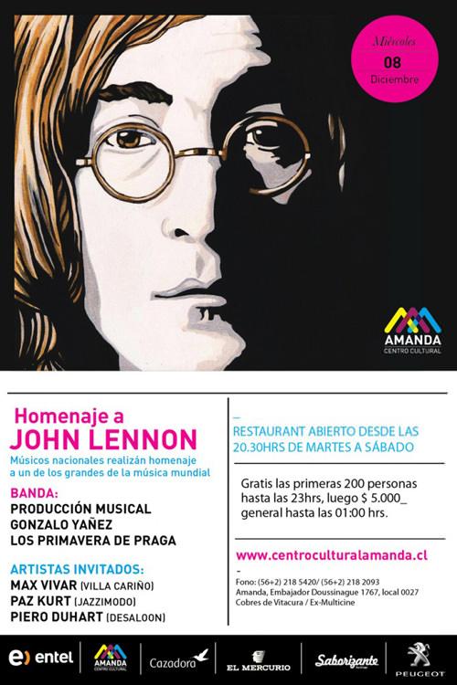 MIE/08/12 Concierto x Lennon 1
