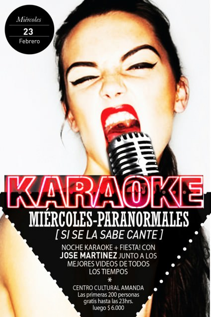 MIE/23/02 Miércoles de Karaoke en Amanda 1