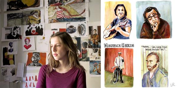 Las geniales historias ilustradas de Luisa Rivera 1
