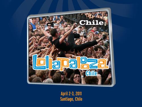 Chile tendrá su versión del Lollapalooza Festival 1