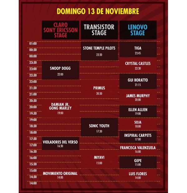 Maquinaria Festival 2011: llegó el día 3