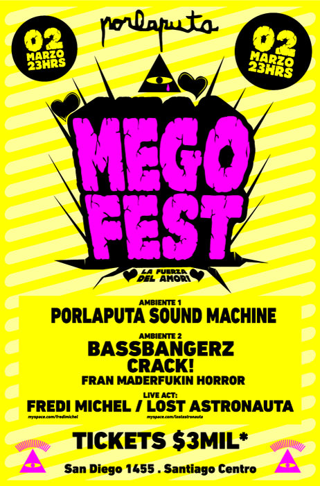 Porlaputa presenta: Megofest 2012 3