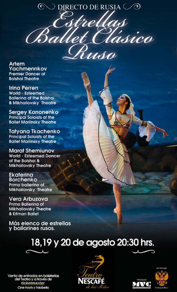 """Concurso: Gana entradas para """"Estrellas Ballet Ruso"""" 1"""