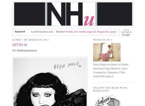 NHu, un blog adicto a la moda 1