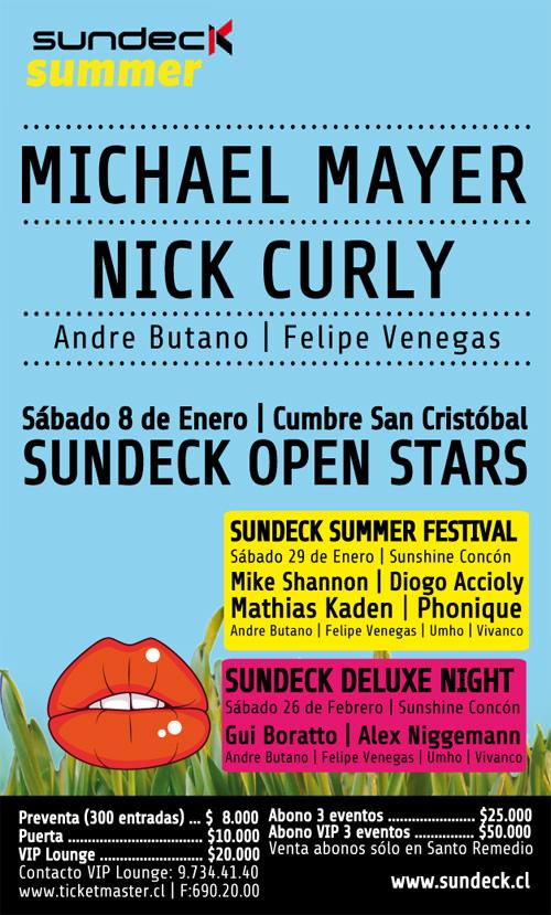 Michael Mayer + Nick Curly en Chile 1