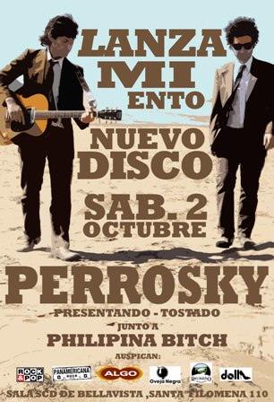 SAB/02/10 Lanzamiento disco Perrosky 1