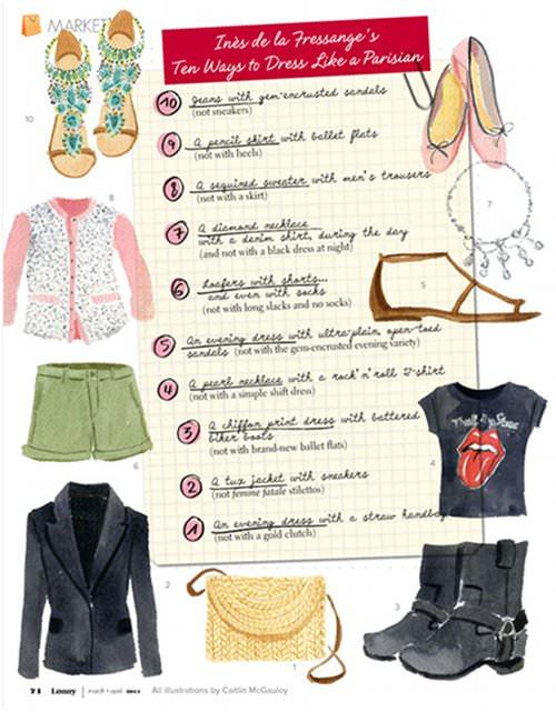 Parisian Chic: A Style Guide, por Inès de la Fressange 2