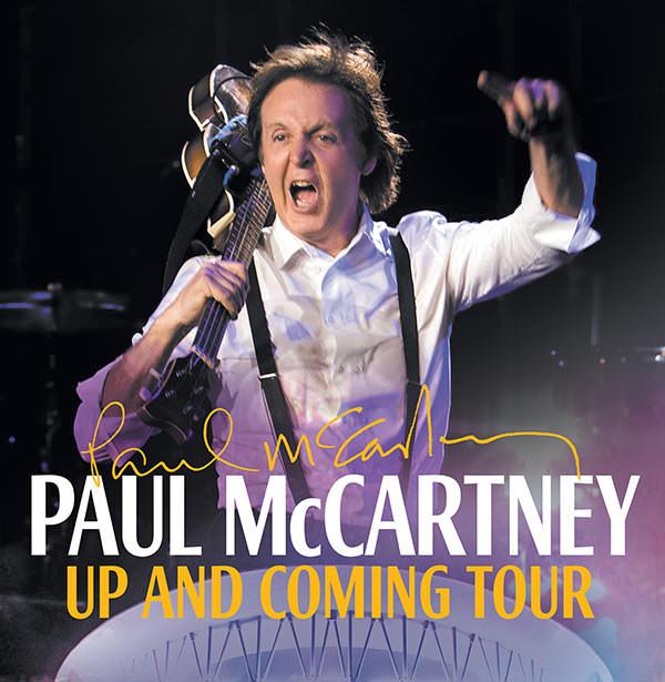 ¿A qué hora llegarás a Paul McCartney? 1