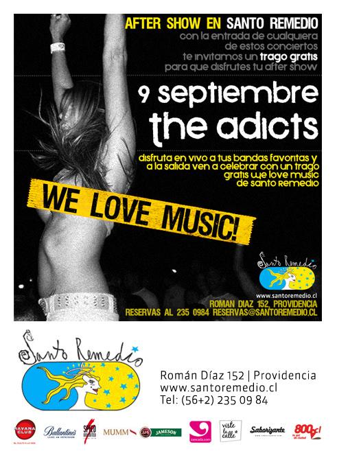 JUE/09/09 We Love Music, Santo Remedio 1