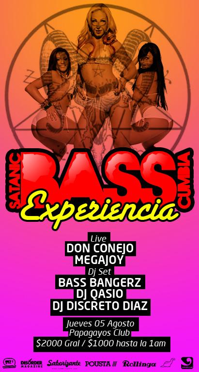 JUE/05/08 Fiesta Satanic Bass Cumbia Experience 1
