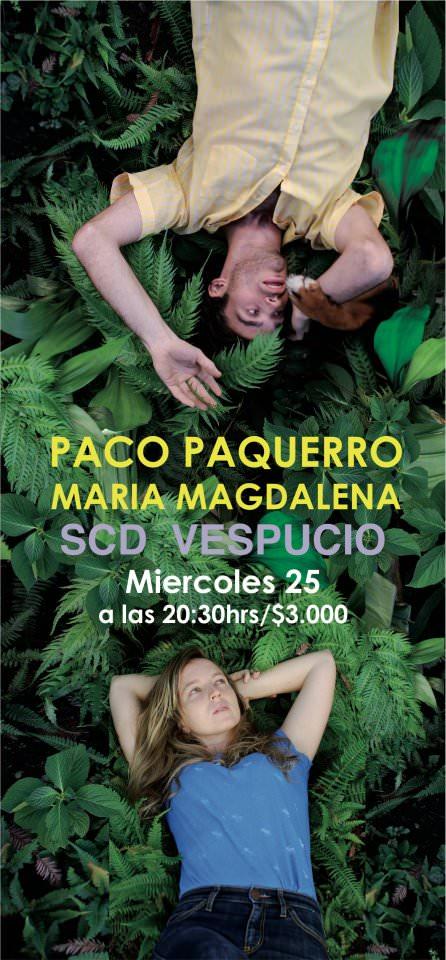 Paco Paquerro y María Magdalena en vivo 1