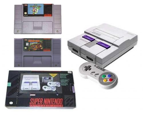 Objeto de deseo: Super Nintendo 1