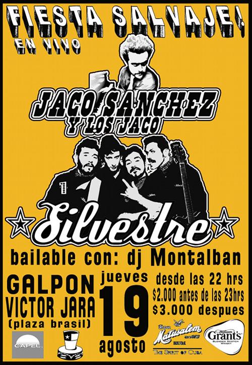 JUE/19/08 Silvestre y Jaco Sánchez y Los Jaco 1