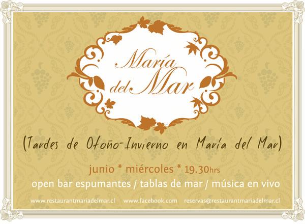 MIE/06 Tardes de Otoño- Invierno en Restaurant María del Mar 1