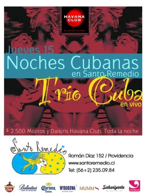 Trio Cuba 15 octubre