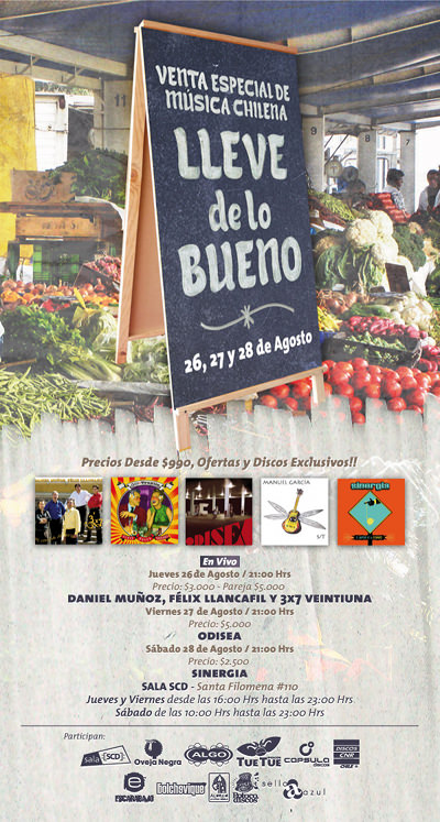 """VIE/27/08 Música Chilena: """"Lleve de lo Bueno"""" 1"""