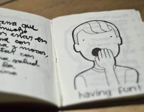 Visual: Mi mundo privado (en un cuaderno) 2