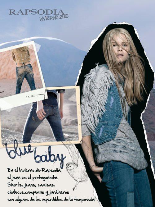 Jeans y tachas en Rapsodia 1