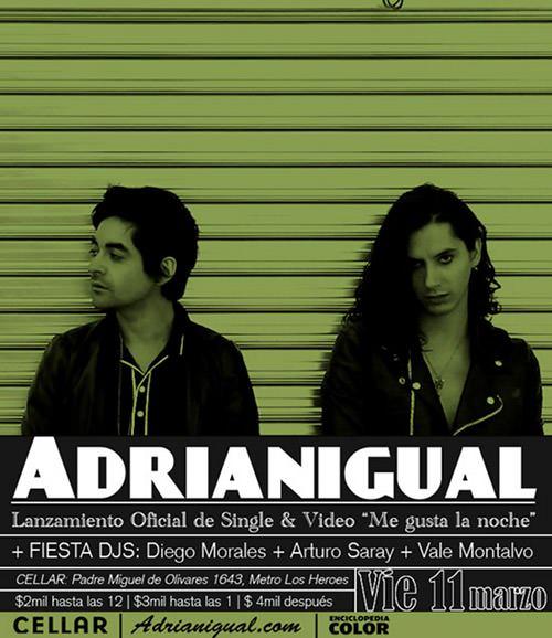 VIE/11/03 Adrianigual en vivo 1