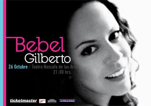Bebel Gilberto en Chile: 26 de octubre 1