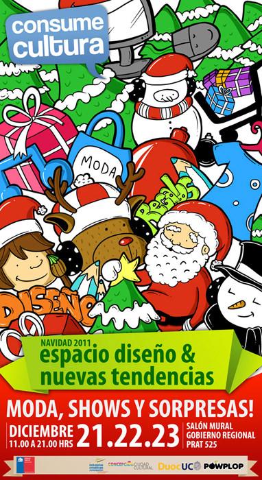 Feria de Navidad en Concepción 1