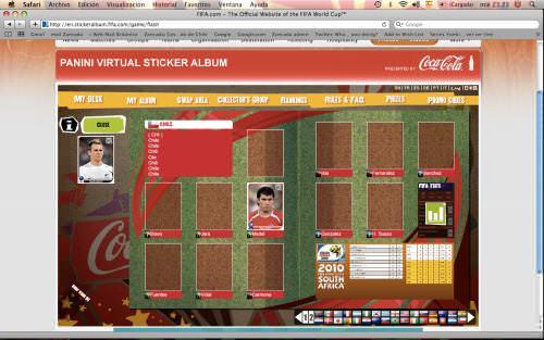 El álbum virtual del mundial 1