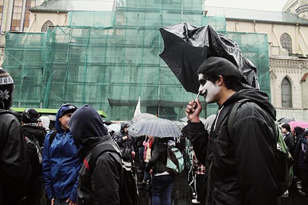 Marchando bajo la lluvia 5