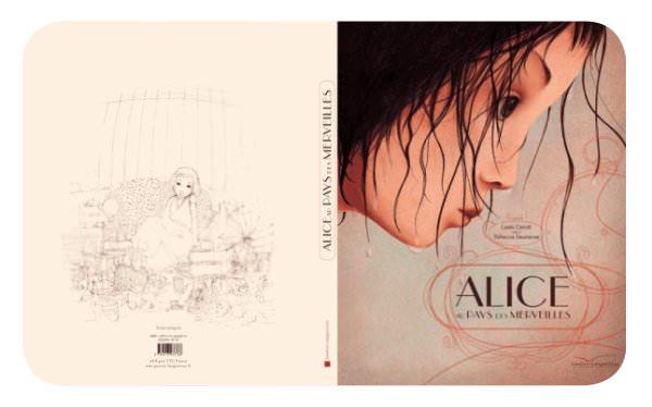 Alicia en el país de las maravillas ilustrado por Rébecca Dautremer 1