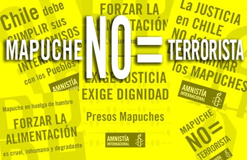 Amnistía Internacional en defensa de los mapuches 1