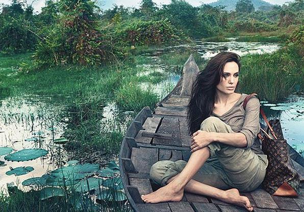 Angelina Jolie para Louis Vuitton 1