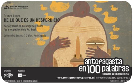 Los cuentos de Iquique y Antofagasta en 100 Palabras 2
