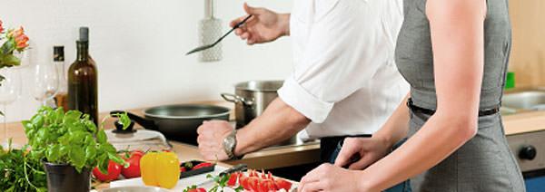 Ser la ayudante en la cocina 1