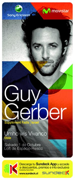 Fiesta Sundeck: Guy Gerber en vivo 1