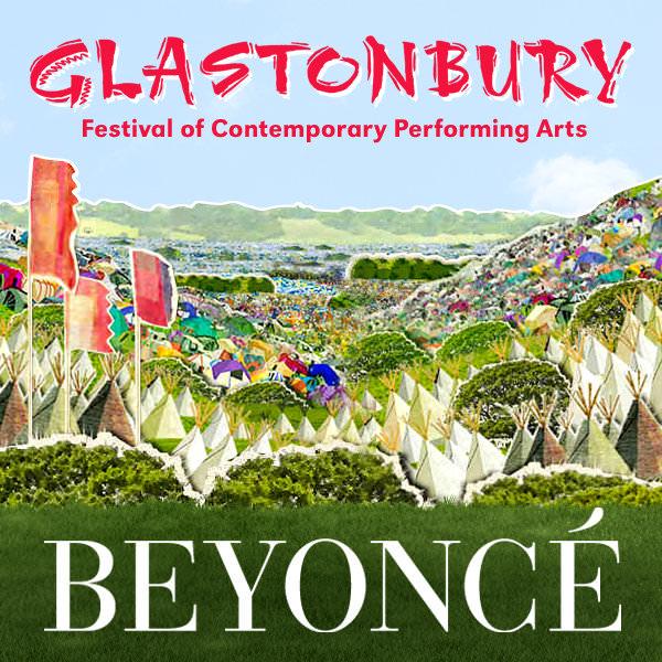 Beyoncé en Glastonbury 1