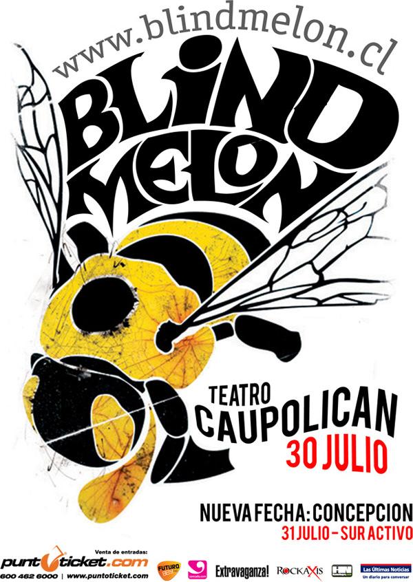 Gana entradas para Blind Melon en Teatro Caupolicán 1
