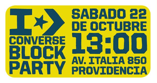 Converse Block Party 1